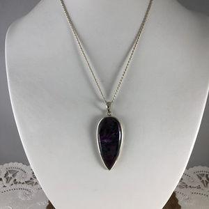 Eye 4 Jewelry Jewelry - Vintage Purple Lighting Sugilite & 925 Silver